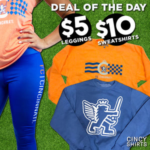 Take Advantage of $5 FCC Leggings and $10 Sweatshirts!