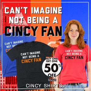 Buy One, Get One 50% Off Cincy Fan Tees!