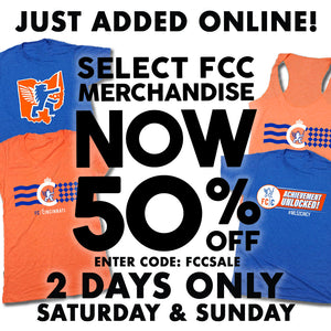 50% Off Online on FC Cincinnati Merchandise!