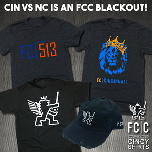 Saturday's FCC Match is a #Blackout!