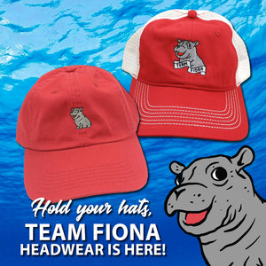 Hold Your Hats! Team Fiona Headwear is Here!