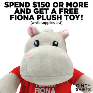 Free Fiona Plush During 12 Days of Cincy Shirts!