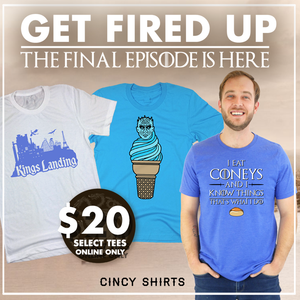 $20 House Cincinnatus Tees!