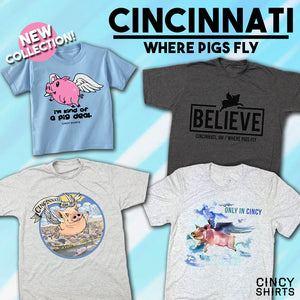 Cincinnati is the Only City Where Pigs Fly!