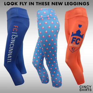Look Fly In These New FCC + Flying Pig Leggings!