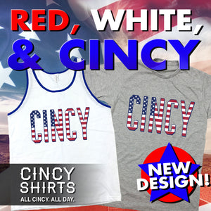 Get Dressed in Red, White & CINCY!