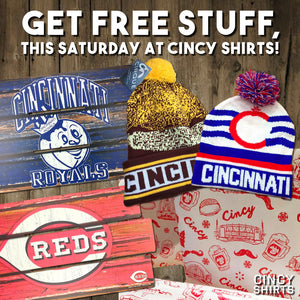 Shop Small Business Saturday at Cincy Shirts!