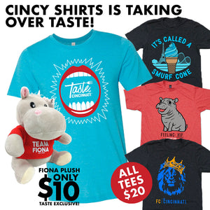 Cincy Shirts Takes Over the Taste of Cincinnati!