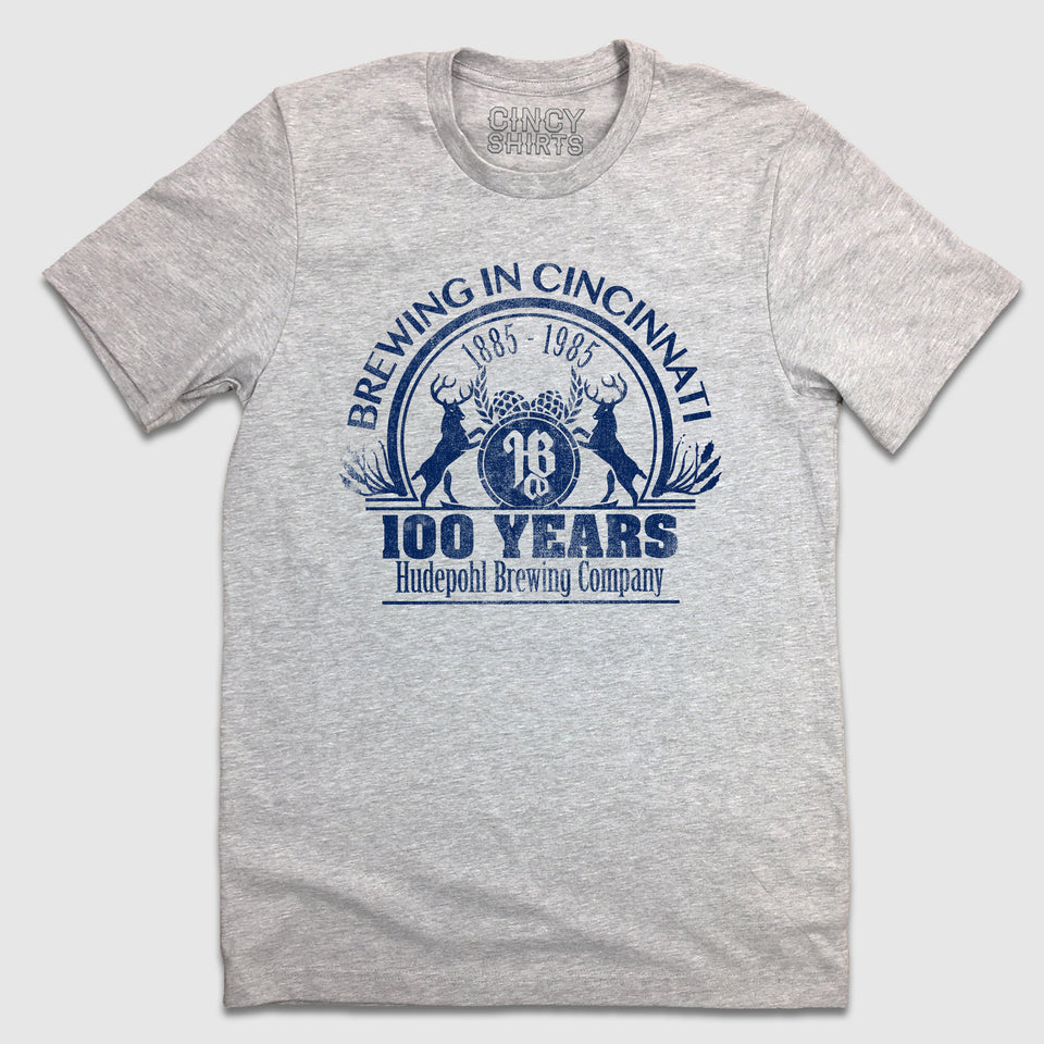Hudepohl Pure Lager 100 years - Unisex T-Shirt - Cincy Shirts