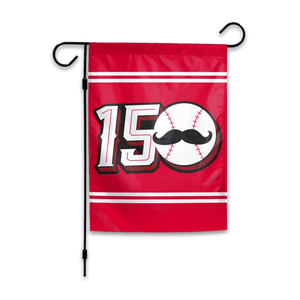 150 Years - Cincy Baseball Garden Flag - Cincy Shirts