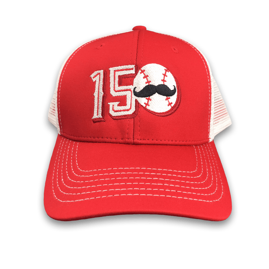 150 Years - Cincinnati Baseball Adjustable Trucker Hat 29644c4b5ed7