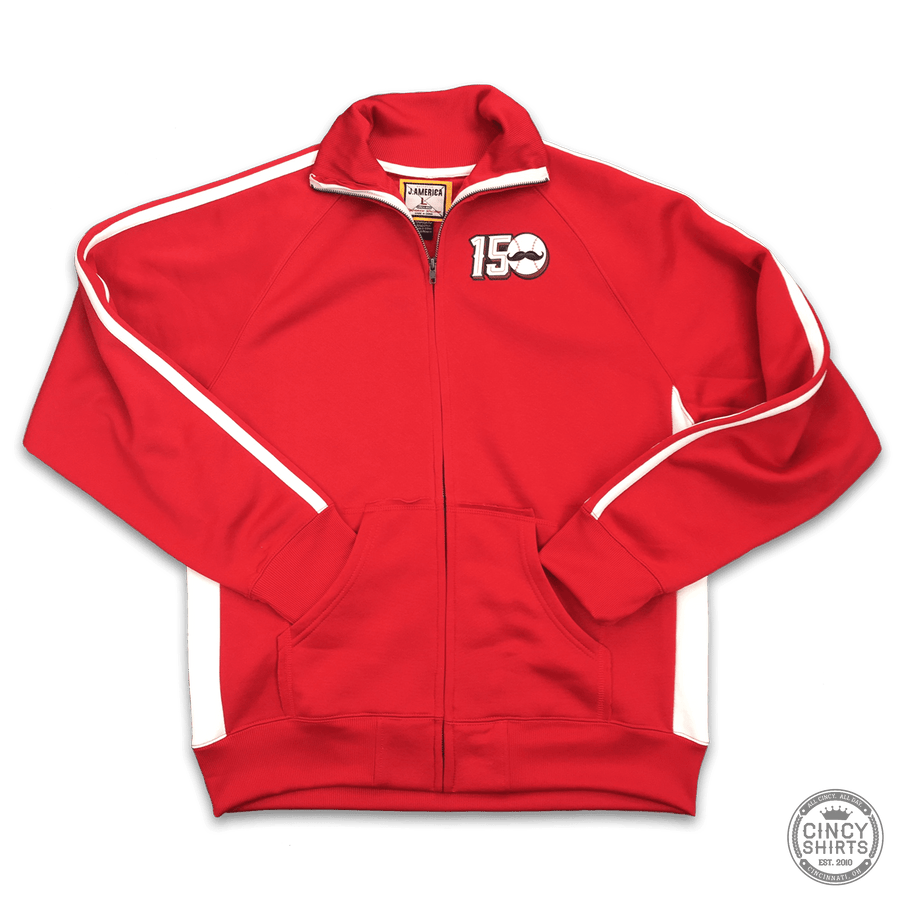 150 Years of Baseball Track Jacket - Cincy Shirts