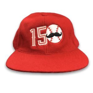 150 Years - Cincinnati Baseball Wool Flat Bill Hat