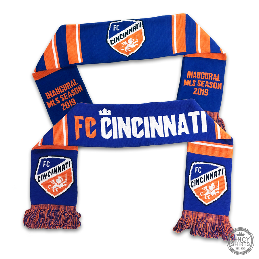 FC Cincinnati Inaugural Season 2019 - Youth Scarf - Cincy Shirts