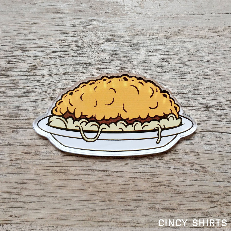 3-Way Chili Refrigerator Magnet - Cincy Shirts