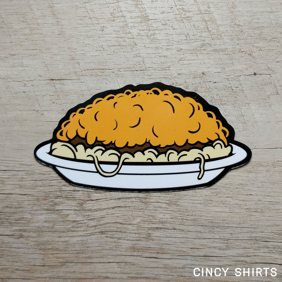 3-Way Chili Car Magnet - Cincy Shirts