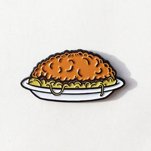 3-Way Chili Enamel Pin - Cincy Shirts
