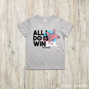 All I Do Is Winsol - Cincinnati Zoo Babies youth T-shirt