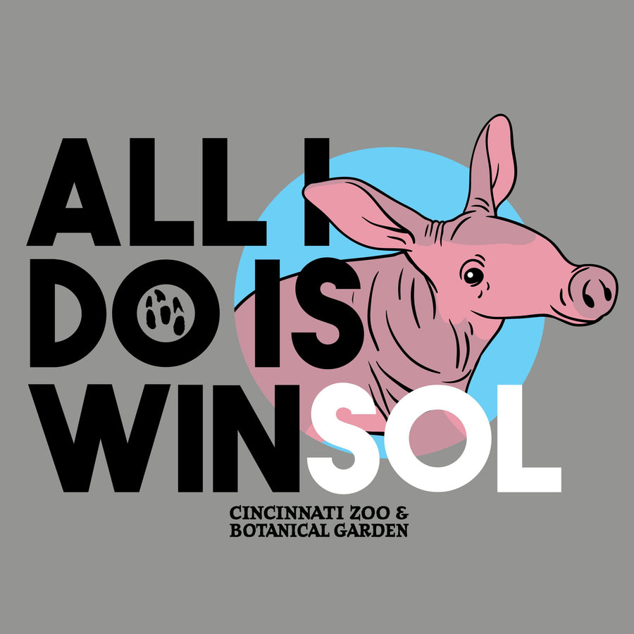 All I Do Is Winsol - Cincinnati Zoo Babies T-shirt