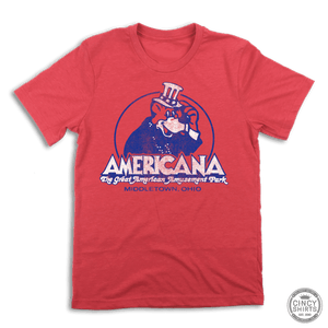 Americana Amusement Park Tee - Cincy Shirts