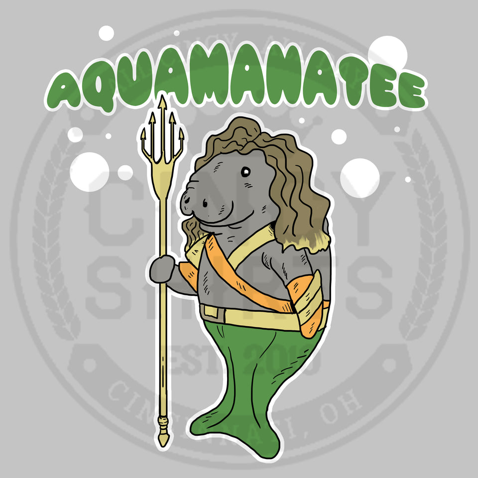 Aquamanatee - HallZOOween - Cincy Shirts
