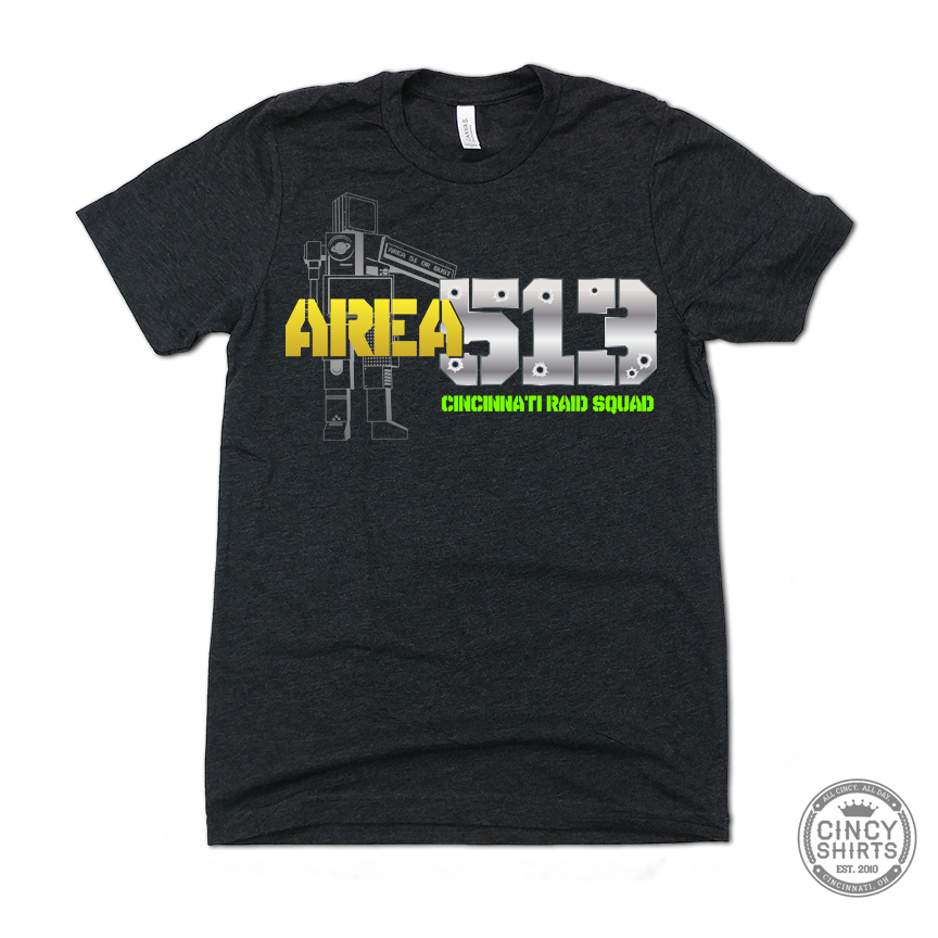 Storm Area 51 / Area 513 Raid Squad - Cincy Shirts