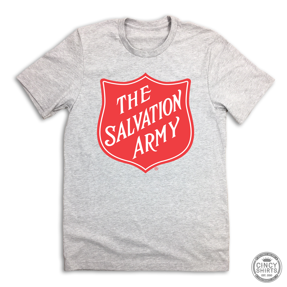 Salvation Army Shield - Cincy Shirts