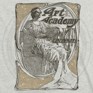 Art Academy of Cincinnati Victorian Lady - Cincy Shirts
