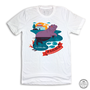 Fiona ArtWorks Mural Tee - Cincy Shirts