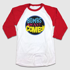 Bombs Away! Comedy - 90's Bayside Logo - Cincy Shirts