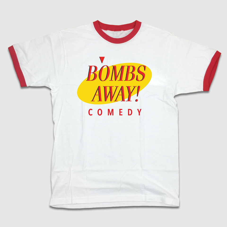Bombs Away! Comedy - 80's Sitcom Logo - Cincy Shirts