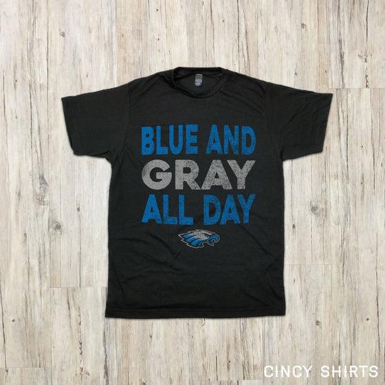 Blue & Grey All Day | Youth Sizes