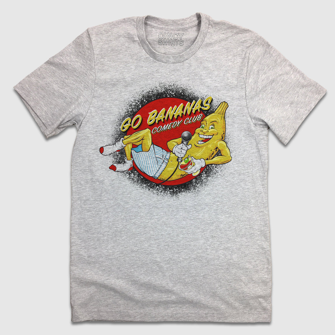 Go Bananas Comedy Club Logo T-shirt Cincinnati