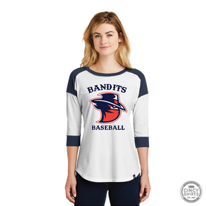 Northern Kentucky Bandits Baseball - Women's Baseball Raglan