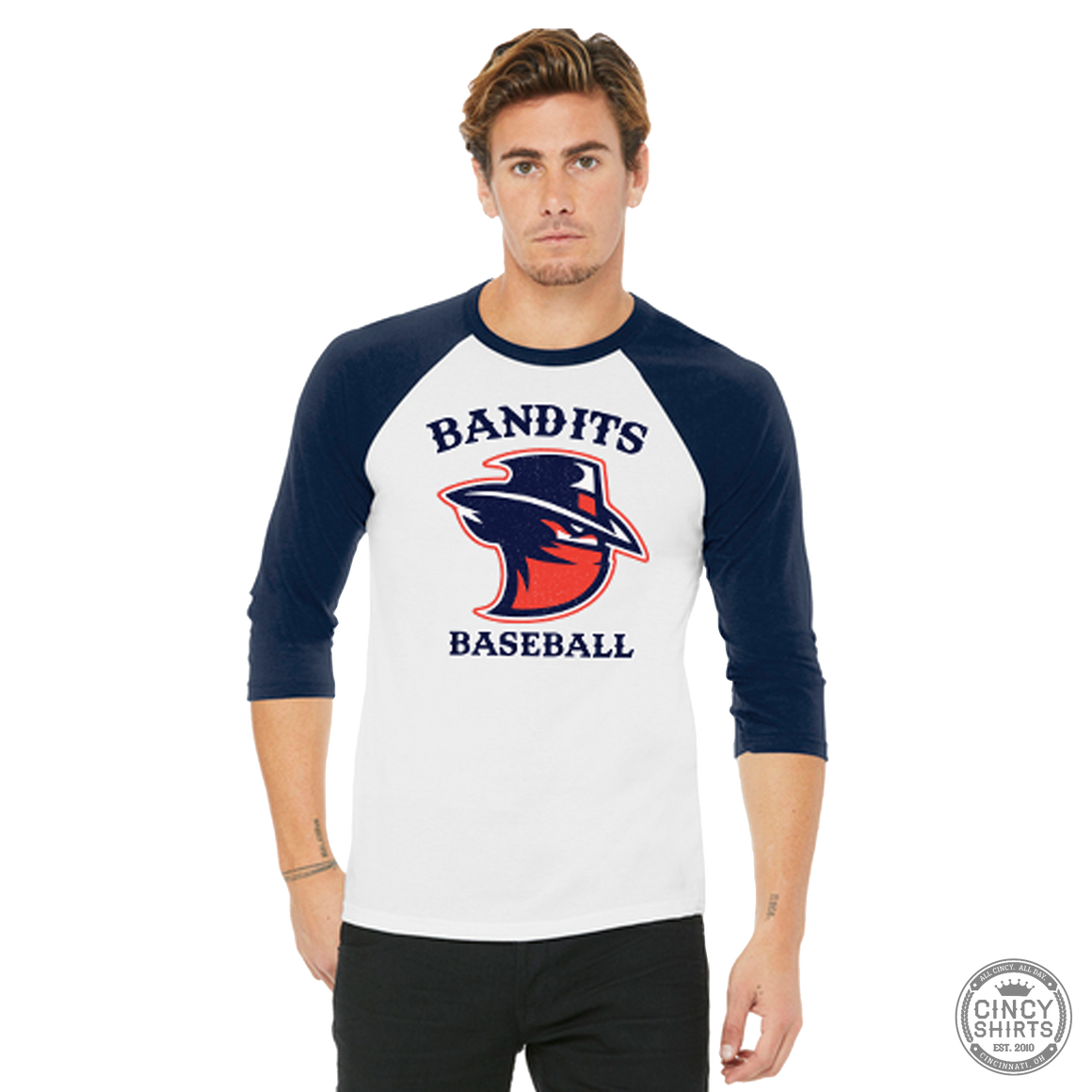 Northern Kentucky Bandits Baseball - Adult Raglan Baseball Tee