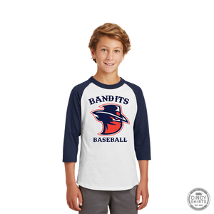 Northern Kentucky Bandits Baseball - Youth Raglan Tees