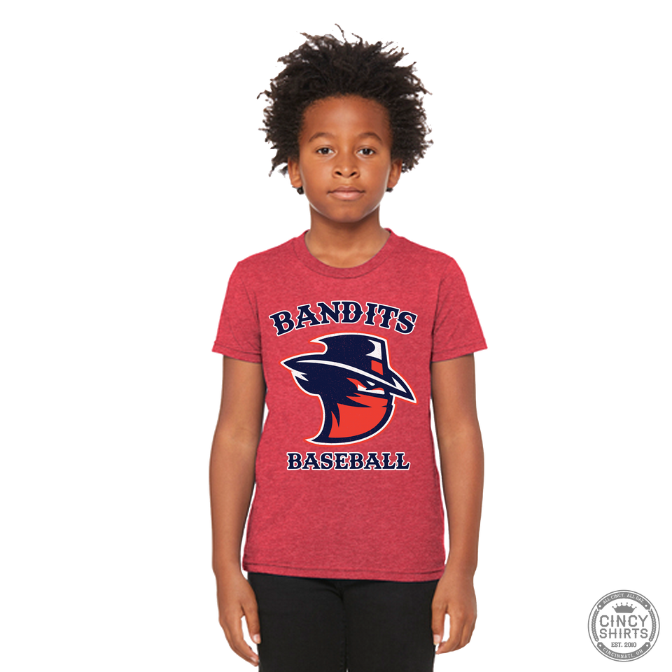 Northern Kentucky Bandits Baseball - Youth Tees - Cincy Shirts
