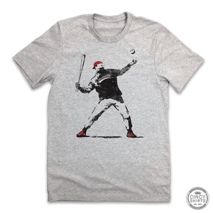 Banksy Baseball - Cincy Shirts