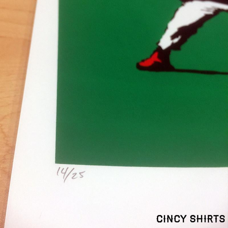Banksy Baseball Limited Edition Poster - Cincy Shirts