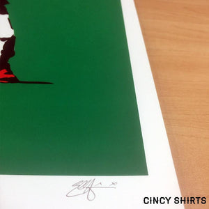 Banksy Baseball Limited Edition Poster