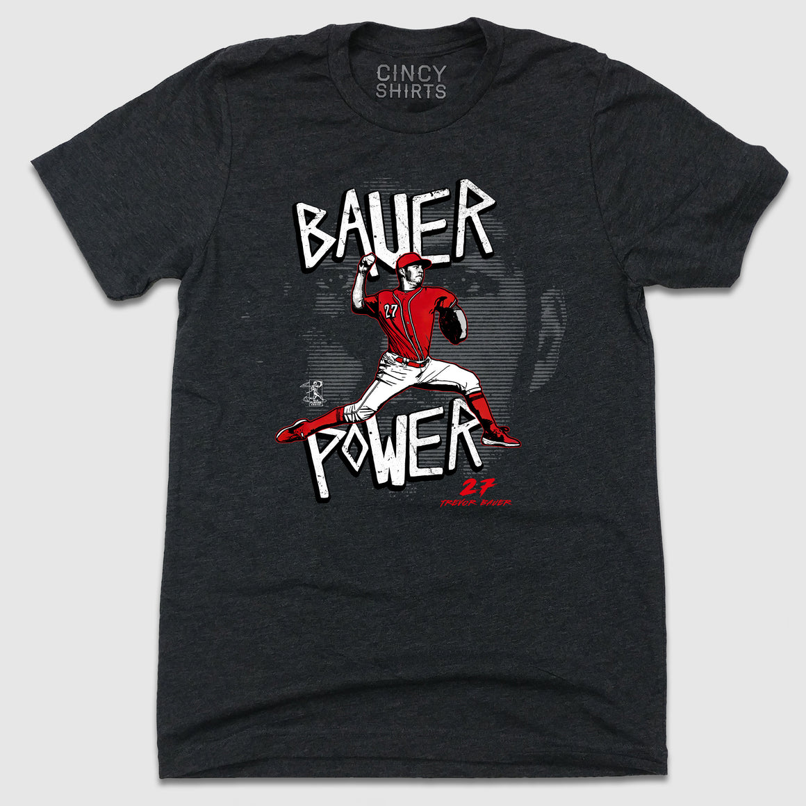 Official Bauer Power MLBPA Tee - Cincy Shirts