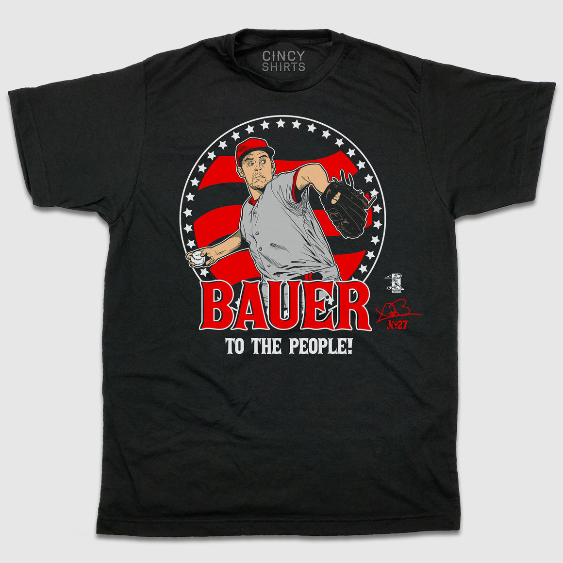 Bauer To The People - Cincy Shirts