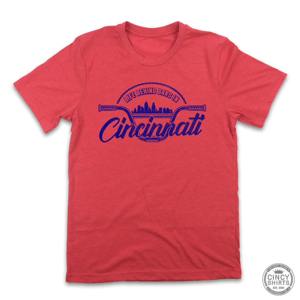 Life Behind Bars In Cincinnati - Cincy Shirts