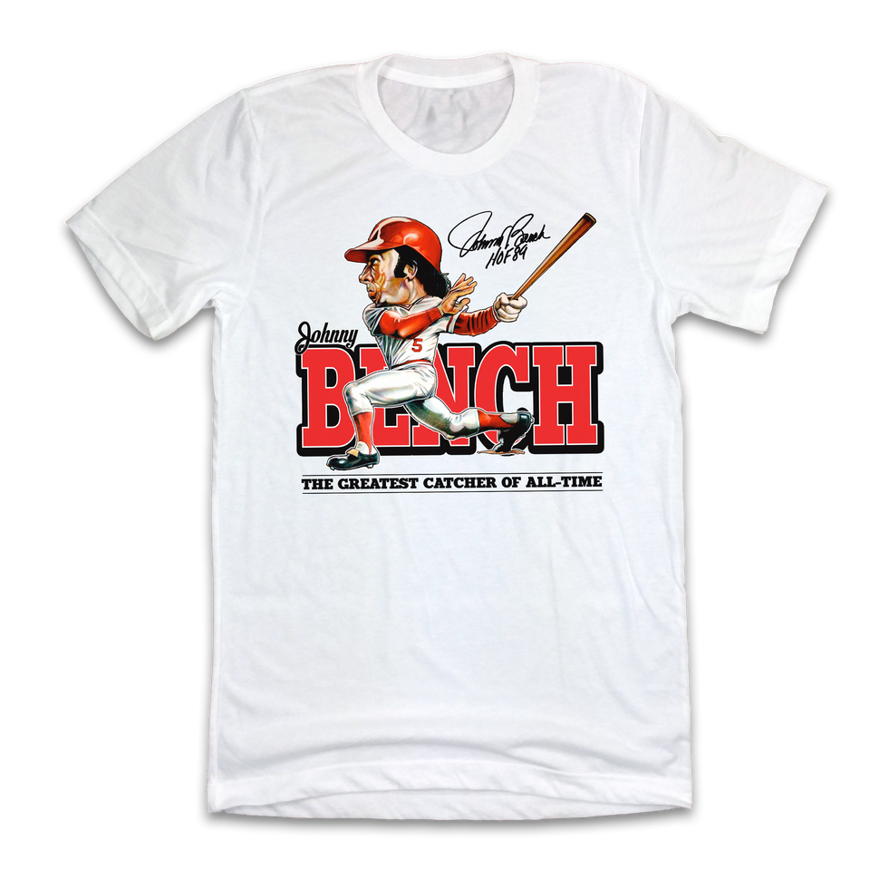 Johnny Bench Hall of Heroes - Cincy Shirts