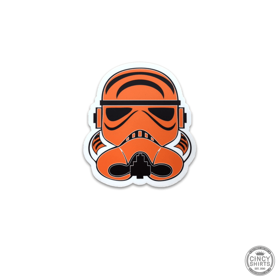 Cincy Football Trooper Sticker
