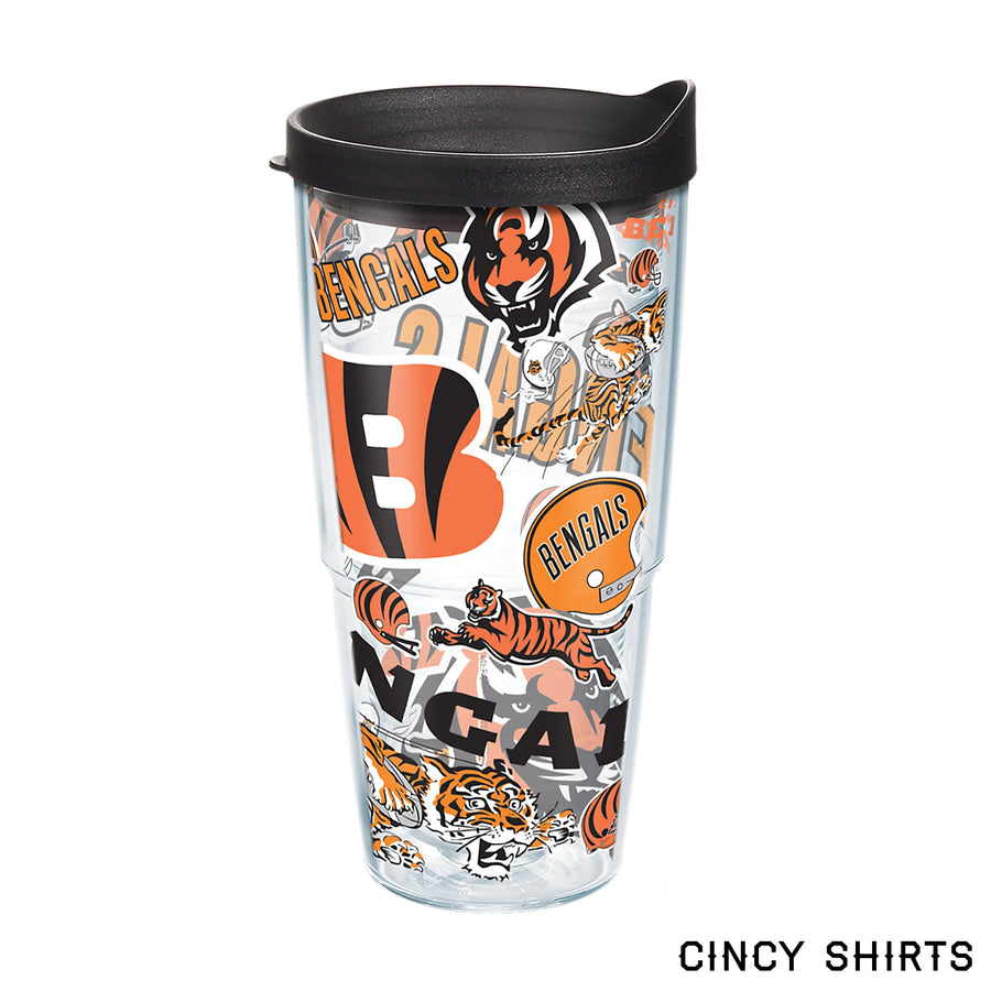 Cincinnati Bengals All Day 24 oz Tervis Tumbler