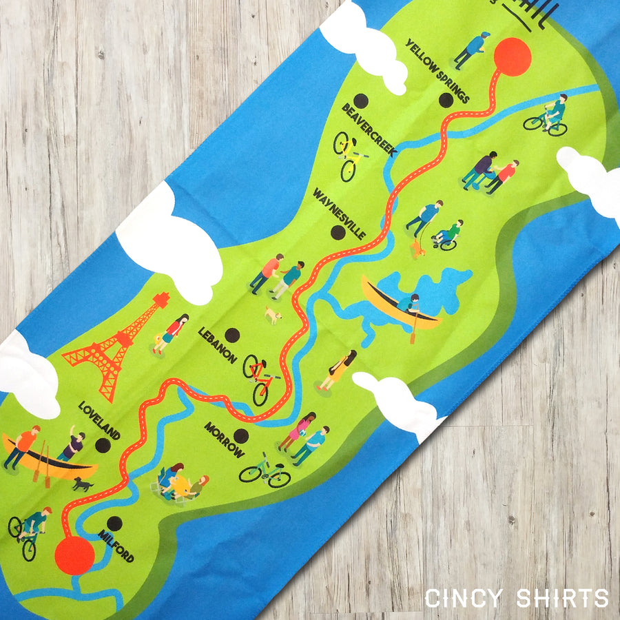 Loveland Bike Trail Cooling Towel