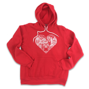 Queen City Love - Billiter Studio's Design - Hoodie