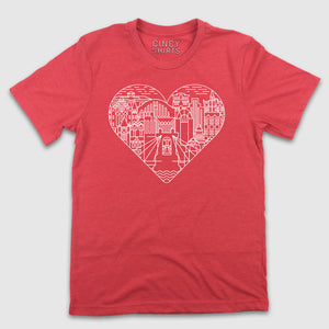 Queen City Love - Billiter Studio's Design - Cincy Shirts