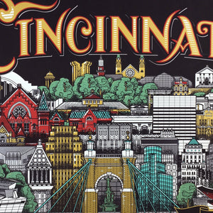 Cincinnati Since 1788 - James Billiter Limited Edition Print